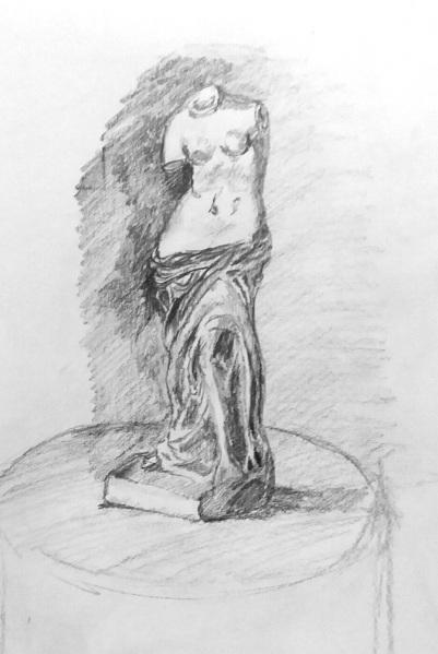 greek stature